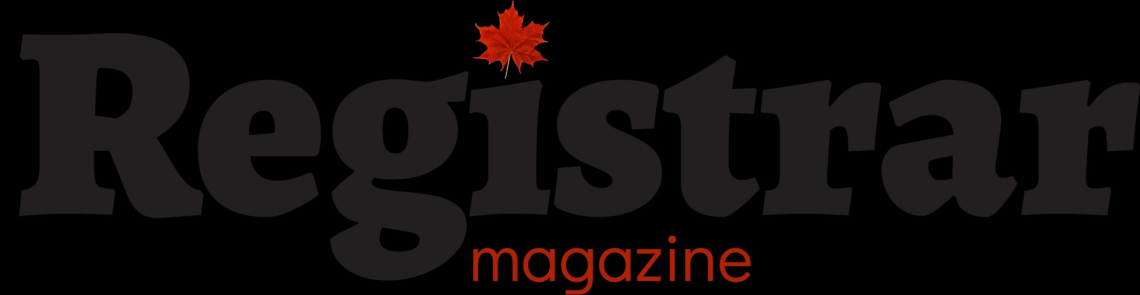 The Registrar magazine